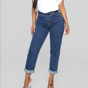 Brand new fashion nova mom jeans